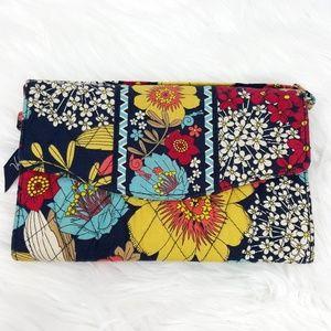 Vera Bradley Happy Snails Tri-fold Clutch Wallet